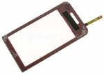 Touch screen Samsung S5230 La-Fleur red (красный) - AA